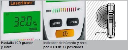 Comprar Medidor profesional de la humedad MoistureFinder             Compact