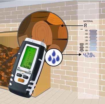 Comprar Medidor de humedad DampMaster Compact para madera  y materiales de construcción