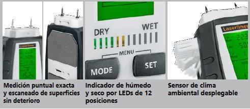 Comprar Medidor de humedad Multiwet-Master Compact Plus