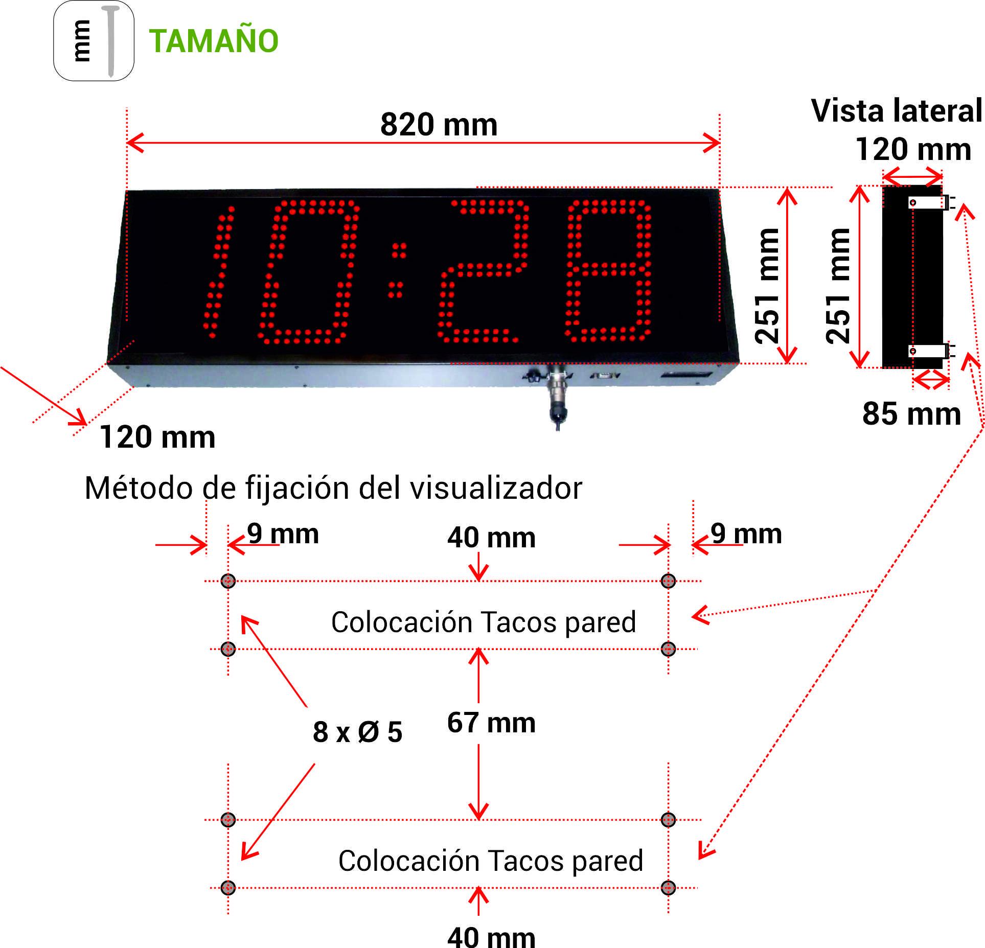 Comprar RELOJ GRAN FORMATO CRL119 Y CRL189