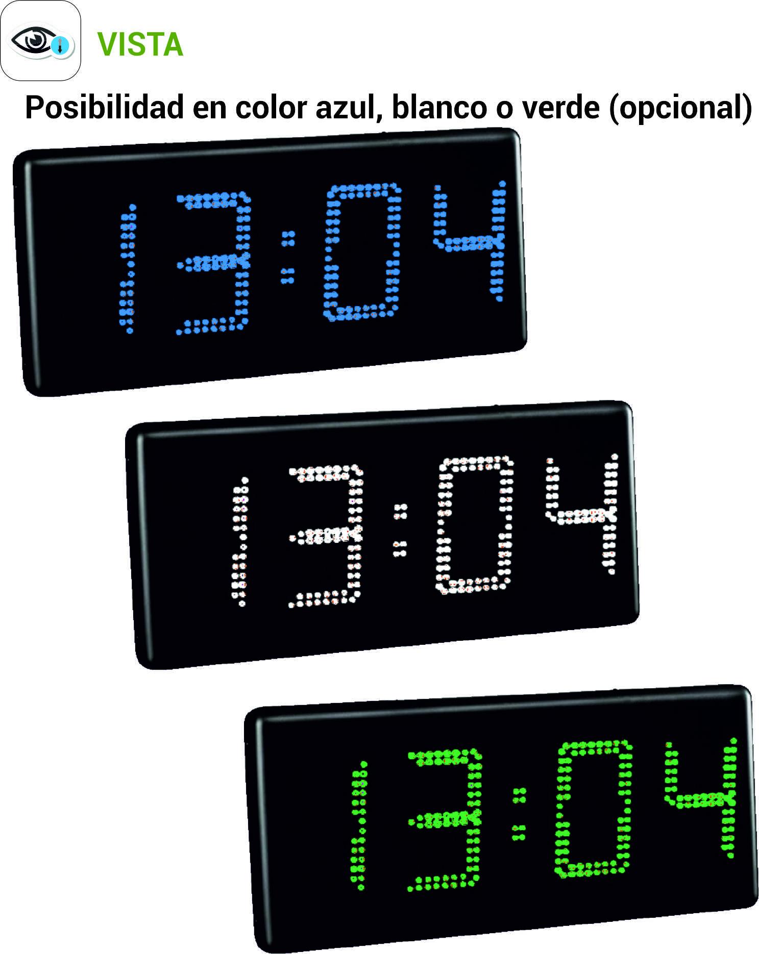Comprar Reloj digital de pared, dígitos de 180 mm