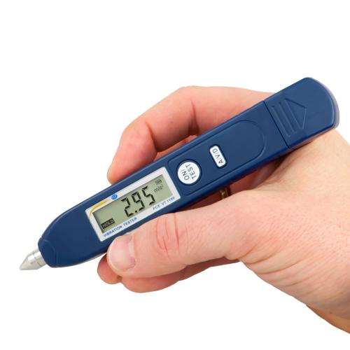 Comprar Vibrómetro de mano para evaluar las vibraciones individuales