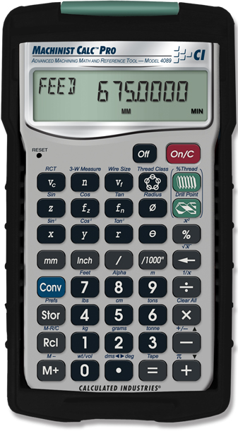 Comprar Calculadora  Machinist Calc Pro International