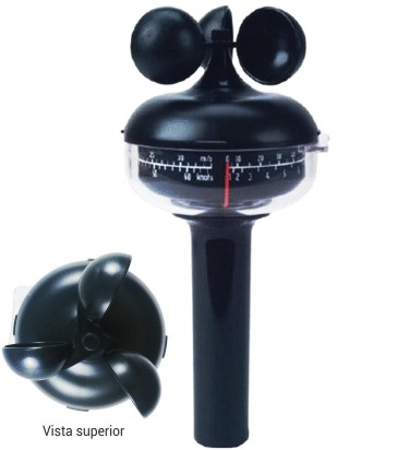 Comprar Anemómetro DEUTA de cazoletas con freno y adaptador a trípode