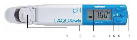 Comprar Medidor de bolsillo LAQUATwin de calcio (Ca2+). QHB-CA11