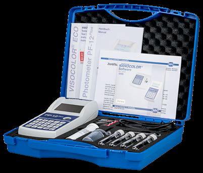 Comprar Fotómetro compacto PF-12 Plus para análisis de agua y suelo