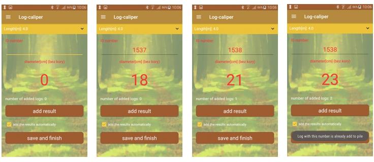 Aplicacion para gesitión forestal