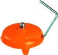 Soporte de apoyo para miras con hueco central o con bola de acero de 3 Kg