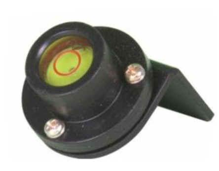 Nivel metálico para mira telescopica